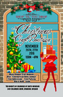 CHRISTMAS CRAFT BOUTIQUE A few vendor spot left. Call today