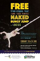 Annual Naked Bungy Jump for BCSS Victoria 2016