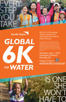 World Vision Canada-Global 6K for Water 2019(Join the movement)