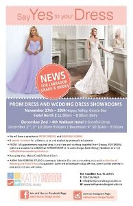 WEDDING DRESSES and PROM coming to  HVGB and WABUSH