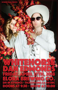 Four Tickets for Whitehorse on April 27 (conditionally sold)