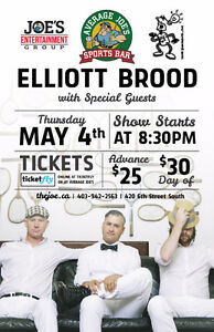 Elliott Brood w/ Burning Bridge - May the Fourth be Folk Rock!