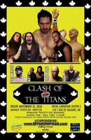 RCW CLASH OF THE TITANS: LIVE PRO WRESTLING