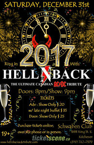 AC/DC Tribute playing Schwaben Club New Years Eve Cambridge Kitchener Area image 1