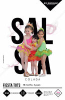 Salsa Colada Fiesta Tots 18 months to 4 years old