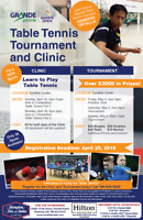 Table Tennis Clinic