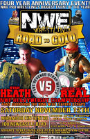 NWE PRO WRESTLING PRESENTS ROAD TO GOLD LIVE IN MIRAMICHI , NB!