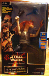 STAR WARS EPISODE 1 JAR JAR BINKS! NEW IN BOX!!