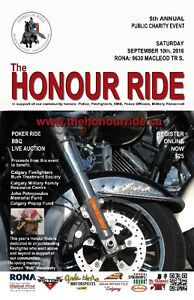 PUBLIC CHARITY MOTORCYCLE POKER RIDE, SEPTEMBER 10TH