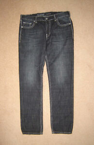 Warehouse One Jeans (Slim Fit) - 34x32, Zip-Off sz L