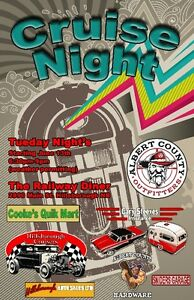 NEW!! Classic Car Cruise Night - Tues all summer