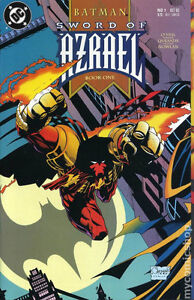 Sword of Azrael 1, the first appearance of Azrael