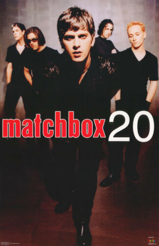 POSTER : MUSIC : MATCHBOX 20 - ALL 5 COLLAGE  - FREE SHIP  #6172   RC31 i