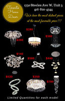 CRYSTAL CHANDELIERS ***FACTORY DIRECT!!!!***BEST PRICES!!!***