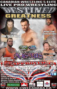 CWE Live Pro Wrestling In Reston Tickets