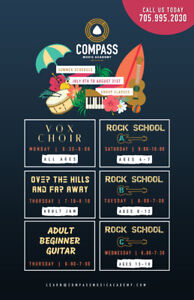 Summer Group Music Lessons and Camps