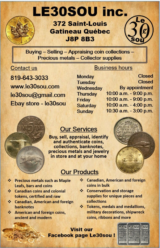 Coin Collection Appraisal, Gold Silver, Jewelry, Monnaie, Bijoux