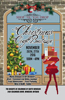 "Shop ""Til"" You Drop at the Christmas Craft Boutique"