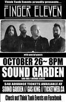 FINGER ELEVEN LIVE AT SOUND GARDEN
