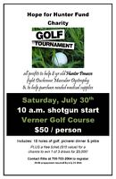 charity golf tourney in verner