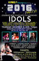 New Year's Party w/ Elvis, Patsy Cline & Legendary Idols & MORE