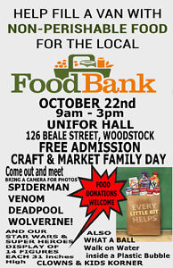 FUN FOR KIDS IN WOODSTOCK; FAMILY DAY;FILL A VAN WITH FOOD Stratford Kitchener Area image 1
