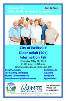 City of Belleville Older Adult (50+) Information Fair