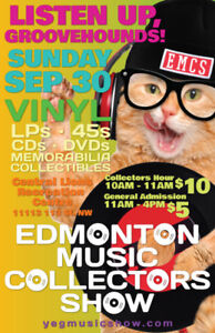EMCS Tons of Vinyl Records LPs 45s CDs more Sunday Sept. 30