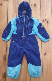 Huppa baby snow suit.