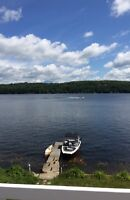CHALET BORD LAC CONNELLY ST-HIPPOLYTE 50 mins MTL