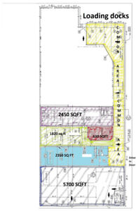 Space available for Warehousing, or Storage ~630 SQFT