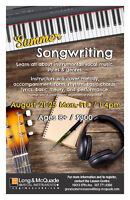 SUMMER SONGWRITING