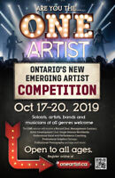"""The """"ONE"""" Artist competition by a group of amazing companies!"""