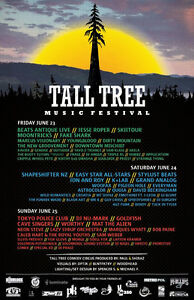 Tall Tree Music Festival Tickets (inc: early access and camping)