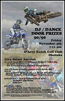 Fundraiser for 2 Local National Level Motocross Athletes