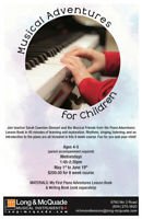 Musical Adventures for Children (ages 4-5)