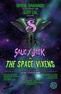 Saucy Jack and the Space Vixens! Kingston Kingston Area image 1