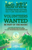 Volunteers Wanted for Kaslo Jazz Fest 2019!