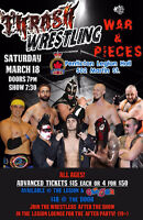 THRASH WRESTLING Presents a night of Action for the whole family