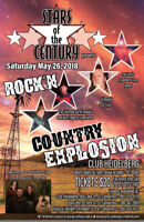 Stars of the Century Presents: Rock N Country Explosion