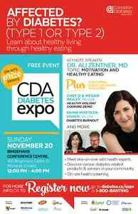 National Diabetes Expo with the Canadian Diabetes Association Kitchener / Waterloo Kitchener Area image 1
