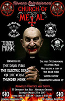 CHURCH Of METAL @ Maxwell's Concert and Events in Waterloo Ont.