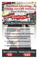 Flyer Delivery Worker Needed-- With Vehicle Preferred