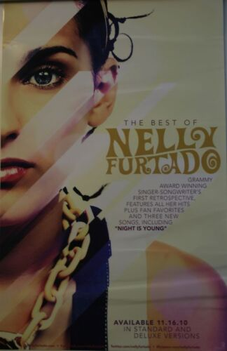 NELLY FURTADO THE BEST OF CD Pic POSTER 2010 14x22
