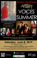 Arcady presents Voices of Summer!