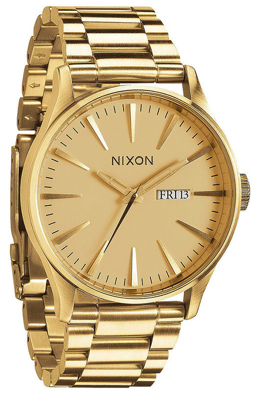 top 10 gold watches for men nixon sentry bracelet watch