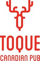 Toque Canadian Pub is looking for Outgoing Hosts/Hostesses