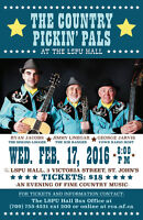 The Country Pickin' Pals at The LSPU Hall