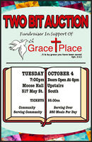 Two-Bit Auction in Support of Grace Place