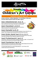 Children's Art Camps at Mann Art Gallery